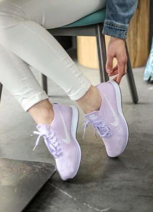 Удобные и легкие кроссовки nike из плотного текстиля (весна-ле...