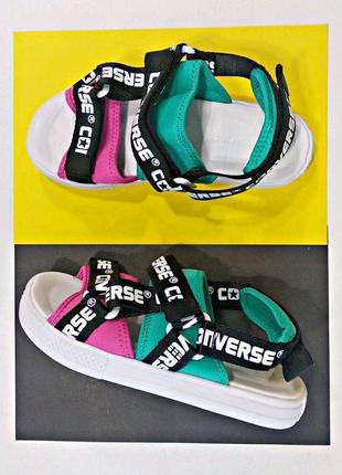 Шикарные сандалии  converse sandal logotape multi (весна-лето-...