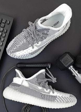 Шикарные спортивные кроссовки adidas из текстиля (весна-лето-о...