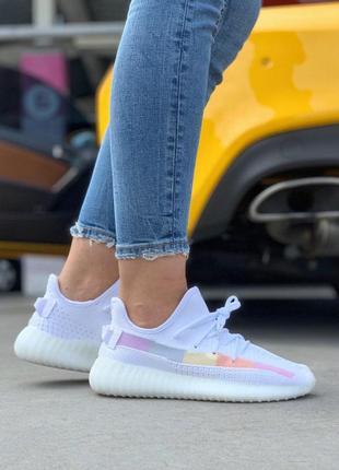"""Шикарные летние кроссовки adidas yeezy """"ice cream""""  (весна-лет..."""