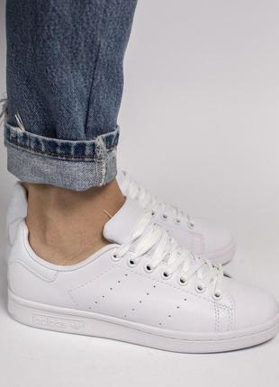 Стильная и легка обувь в белоснежном цвете (весна-лето-осень)😍