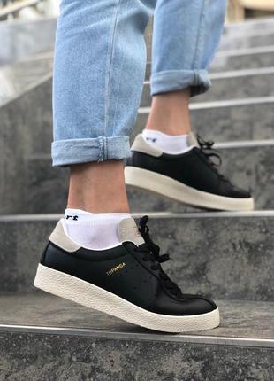 Стильные кроссовки adidas topanga в черном цвете (весна-лето-о...