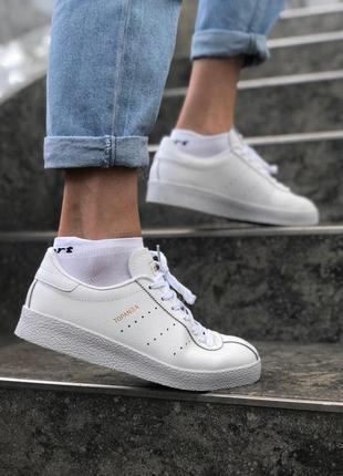 Шикарные белоснежные кроссовки adidas topanga (весна-лето-осень)😍