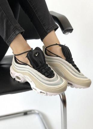 Шикарные кроссовки nike air max в стильном дизайне (весна-лето...
