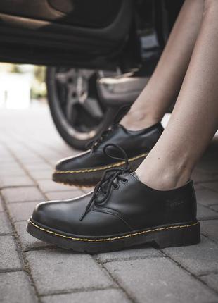 Стильная обувь dr martens в коже (весна-лето-осень)😍