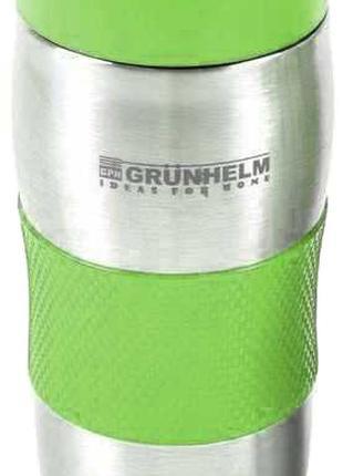 Термокружка GRUNHELM GTC102 : 380 мл   зеленый