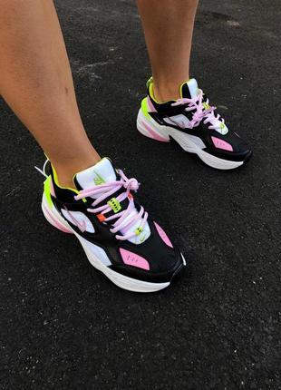 Шикарные кроссовки nike m2k в крутом дизайне (весна-лето-осень)😍