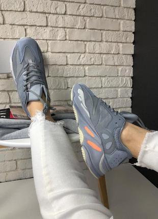 Крутые кроссовки adidas yeezy 700 inertia (весна-лето-осень)😍