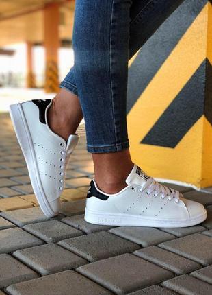 Шикарные кеды adidas в белом цвете (весна-лето-осень)😍