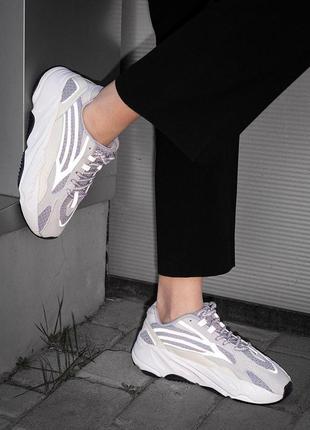 Стильные рефлективные кроссовки adidas (весна-лето-осень)😍