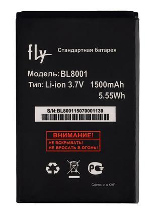 Аккумулятор к телефону Fly BL8001 1500mAh