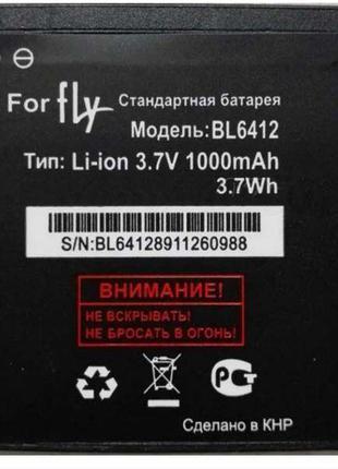 Аккумулятор к телефону Fly BL6412 1000mAh
