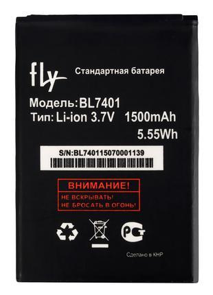 Аккумулятор к телефону Fly BL7401 1300mAh