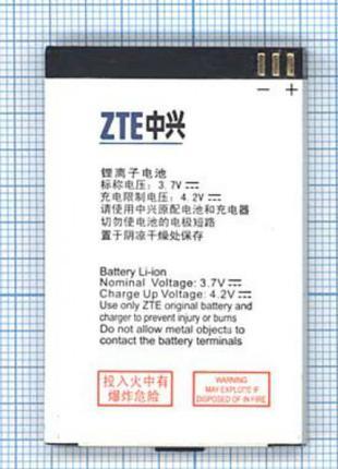Аккумулятор к телефону ZTE Li3710T42P3h553657 1000mAh