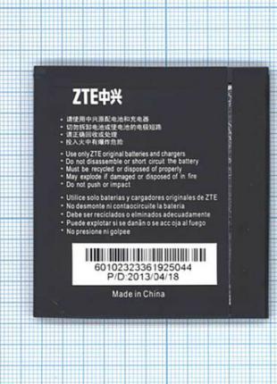 Аккумулятор к телефону ZTE Li3818T43P3H605646 1800mAh