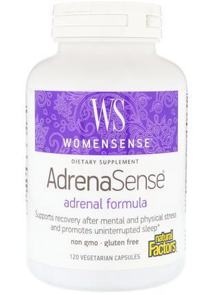 Комплекс для поддержки надпочечников Natural Factors, WomenSen...