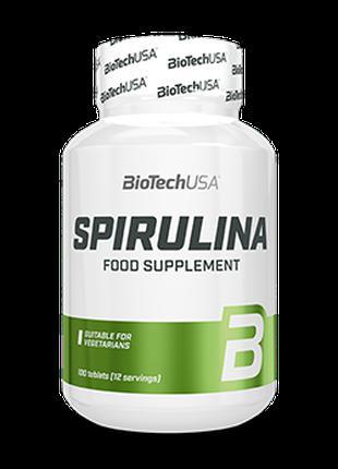 Спирулина BioTech Spirulina 100 таблеток