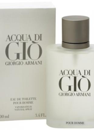 Acqua Di Gio Giorgio Armani мужская туалетная вода