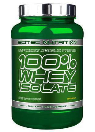 Сывороточный изолят Scitec Nutrition 100% Whey Isolate 2 кг