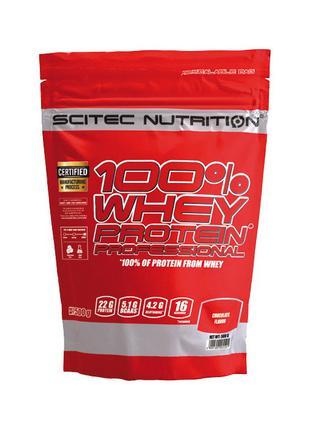 Сывороточный протеин Scitec Nutrition 100% Whey Protein Profes...