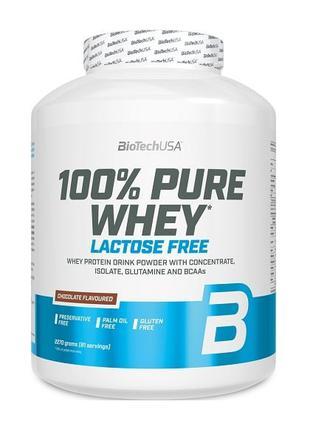 Сывороточный протеин без лактозы BioTech 100% Pure Whey Lactos...
