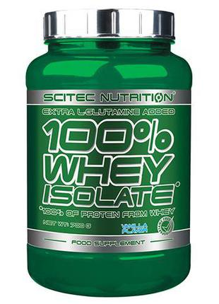Сывороточный изолят Scitec Nutrition 100% Whey Isolate 700 грамм