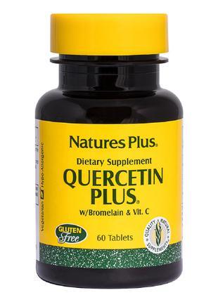 Кверцетин Плюс и Витамин С, Quercetin Plus with Vitamin C Natu...