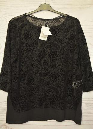 Блуза женская большого размера 54-56 takko fashion германия
