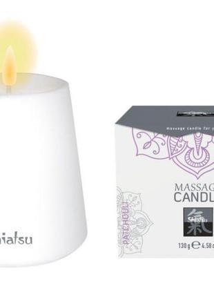 Свеча для массажа SHIATSU Пачули, 130 гр