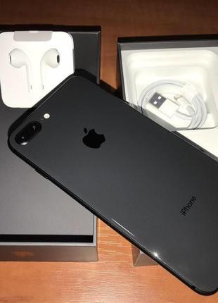 iPhone 8 Plus Space Gray 64GB NEVERLOCK