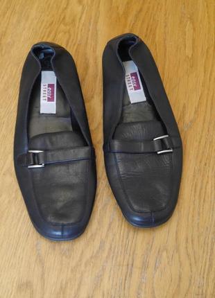 Туфлі  шкіряні розмір 37 стелька 24,3 см easy street