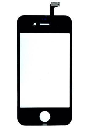 Тачскрин iPhone 4 / 4S Black СКИДКА+ПОДАРОК!