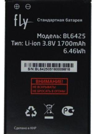 Аккумулятор Fly FS454 BL6425 СКИДКА+ПОДАРОК!