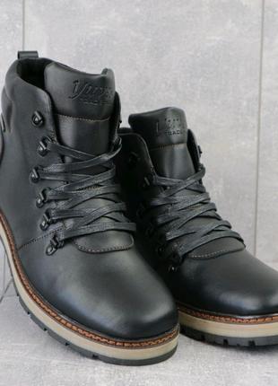 Ботинки мужские Yuves 776 черные