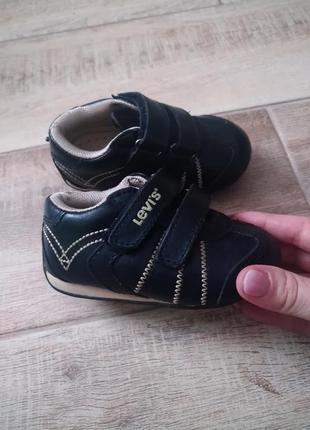 Шкіряні кросівки levis) оригінал❤️