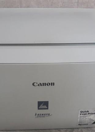 Лазерный принтер Canon lbp 6000