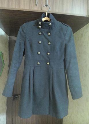 Пальто кашемировое на осень -весну