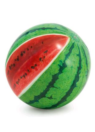 """Мяч надувной 58075 """"Арбуз"""" цветн. от 3 лет 107см"""