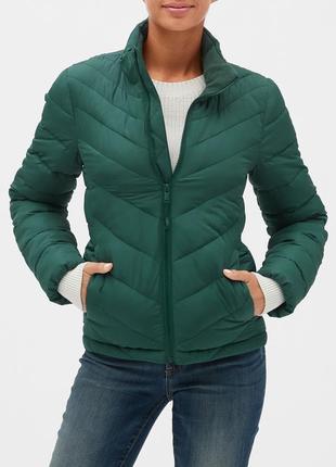 Нова жіноча куртка gap lightweight puffer jacket (сша) розмір l