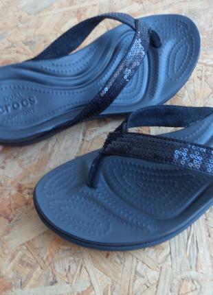 Вьетнамки Crocs оригинал 38 размер-24.5 cm