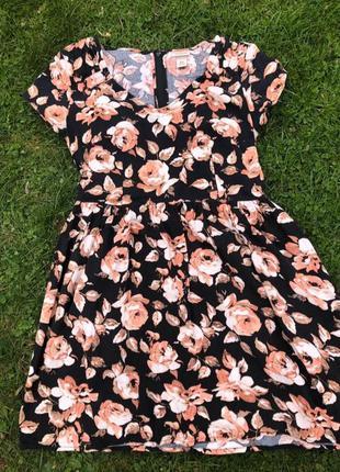 Летнее цветочное платье target