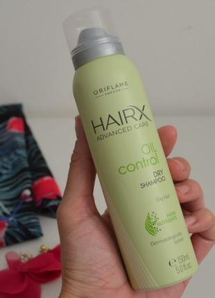 Сухой шампунь для жирных волос hairx код 32907 орифлейм