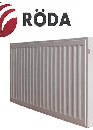 Стальной панельный радиатор (батарея) отопления Roda