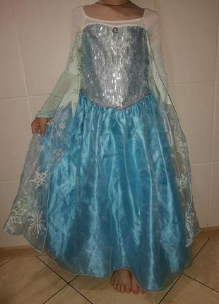 Карнавальный костюм детский принцесса эльза фрозен