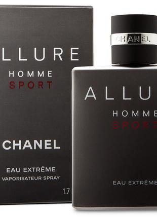 Туалетная вода Chanel Allure Homme Sport Eau Extreme Consentre...