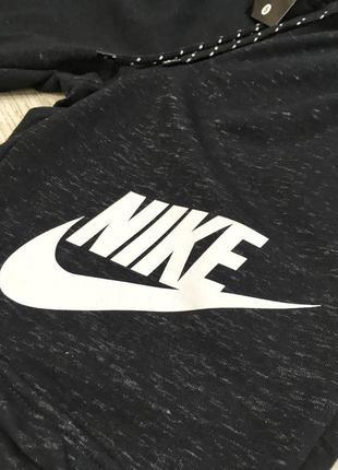Мужские спортивные шорты Nike черные / шорты спортивные мужски...