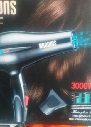 Фен для волос Browns BS-5810 3000W с ионизацией