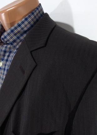 Мужской темно - коричневый костюм s. oliver размер 56