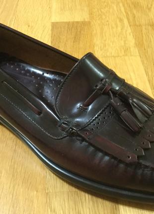Класичні шкіряні чоловічі туфлі