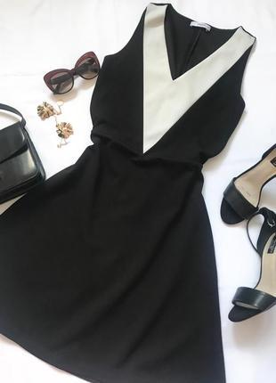 Базовое платье mango р.s